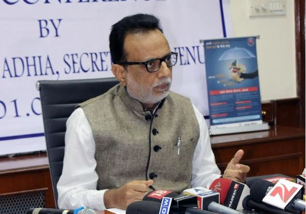 Demo Man Hasmukh Adhia appointed Bank of Baroda chairman
